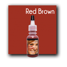 Custom Cosmetic Color - Red Brown